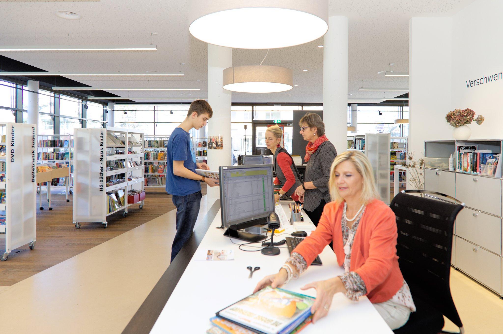 Die Bibliothek Ebikon registrierte im Jahr 2020 trotz zeitweisem Lockdown so viele Ausleihen wie noch nie.
